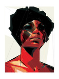 Black Woman 6 Posters by Enrico Varrasso