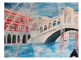 Venice - Rialto Bridge Poster by M Bleichner