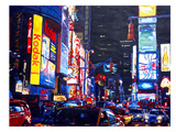 New York Times Square2 Poster by M Bleichner