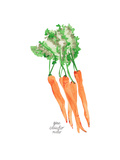 Carrots Art by Gina Maher
