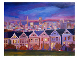 San Francisco - Painted Ladies Posters by M Bleichner