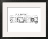In a Quandary - New Yorker Cartoon Wall Art by Roz Chast