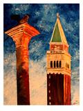 Venice Campanile Print by M Bleichner