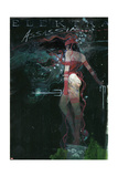 Marvel Knights Presents Cover, Featuring: Elektra Print