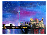 Toronto1 Prints by M Bleichner
