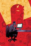 Elektra No. 10 Cover Posters by Michael Del Mundo