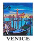 Venice San Giorgio 2 Poster by M Bleichner