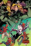 Marvel Secret Wars Cover, Featuring: Silk Print