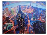 Shanghai 2 Print by M Bleichner