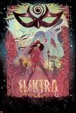 Elektra No. 4 Cover Prints by Michael Del Mundo