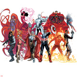 Avengers Now! No. 1 Cover, Featuring: Medusa, Winter Soldier, Angela, Thor (Female) and More Prints by Sara Pichelli