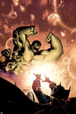 Hulk No. 7 Cover, Featuring: Skaar, Hulk Plastic Sign by Gary Frank