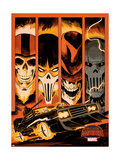 Marvel Secret Wars Cover, Featuring: Ghost Rider Posters