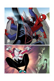 Edge of Spider-Verse No. 3 Cover, Featuring: Spider-Man, Aaron Aikman Prints by Dustin Weaver