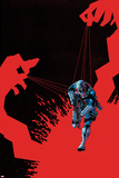 Inhuman No. 9 Cover, Featuring: Medusa Plastic Sign by Ryan Stegman