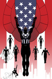 Captain America & the Mighty Avengers No. 1 Cover, Featuring: Falcon Cap, Luke Cage and More Print by Luke Ross