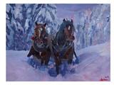 M Bleichner - The Winter Sled Horses 2 - Reprodüksiyon