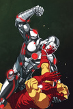 Superior Iron Man No. 5 Cover, Featuring: Iron Man, Teen Abomination, Black Lama Posters by Mike Choi