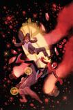 Inhuman No. 12 Cover, Featuring: Medusa, Black Bolt Plastic Sign by Ryan Stegman