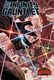 Marvel Secret Wars Cover, Featuring: Gamora, Rocket Raccoon, Angel, Drax Photo
