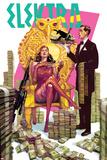Elektra No. 7 Cover Plastic Sign by Alex Sanchez