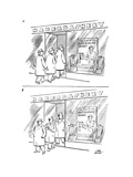New Yorker Cartoon Premium Giclee Print by Carl Rose