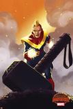 Marvel Secret Wars Cover, Featuring: Captain Marvel Photo