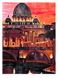 Rome1 Prints by M Bleichner