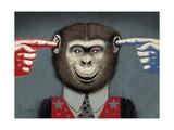 Monkey Giclee Print by Anthony Freda