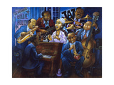 When Billie Sang the Blues Giclee Print by Bill Bell
