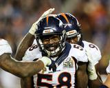 Von Miller - NFL Super Bowl 50, Feb 7, 2016, Denver Broncos vs Carolina Panthers Photo by Gregory Payan