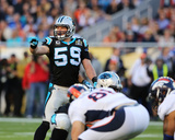 Luke Kuechly - NFL Super Bowl 50, Feb 7, 2016, Denver Broncos vs Carolina Panthers Photo av Gregory Payan