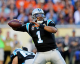 Cam Newton - NFL Super Bowl 50, Feb 7, 2016, Denver Broncos vs Carolina Panthers Photo av Gregory Payan