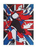 Union Rat Giclee Print by  Abstract Graffiti