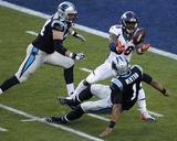 Von Miller - NFL Super Bowl 50, Feb 7, 2016, Denver Broncos vs Carolina Panthers Photo af Charlie Riedel