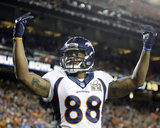 Demaryius Thomas - NFL Super Bowl 50, Feb 7, 2016, Denver Broncos vs Carolina Panthers Photo av Ben Margot