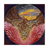 Parting of the Red Sea Giclee Print by Bill Bell