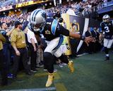 Cam Newton - NFL Super Bowl 50, Feb 7, 2016, Denver Broncos vs Carolina Panthers Photo av Matt York