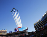 Blue Angels Fly Over Levi's Stadium - NFL Super Bowl 50, Feb 7, 2016, Broncos vs Panthers Photo av Matt York