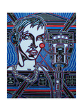 Head Phones Giclee Print by  Abstract Graffiti