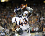 T.J. Ward - NFL Super Bowl 50, Feb 7, 2016, Denver Broncos vs Carolina Panthers Photo by Ben Margot