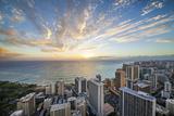 Waikiki Strip Photographic Print by Cameron Brooks