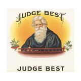 Judge Best Giclee Print by  Art Of The Cigar