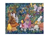 Alice and the Caterpiller Giclee Print by Bill Bell