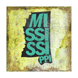 Mississippi Giclee Print by  Art Licensing Studio
