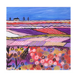 A Country View Giclee Print by Caroline Duncan
