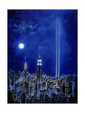 New York Lights 2002 Giclee Print by Bill Bell