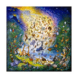 The Joy of Creation Giclee Print by Bill Bell