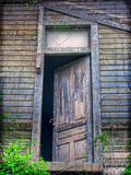 Back Door Photographic Print by Bob Rouse