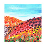 Spring Valley Giclee Print by Caroline Duncan